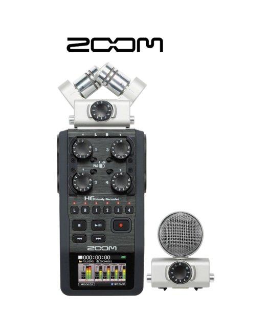 ZOOM H6 Recorder-1